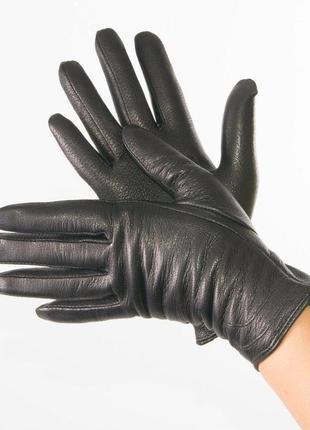 Отличные утепленные кожаные перчатки