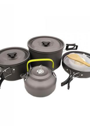 Набор посуды походный cooking set ds-309/70440