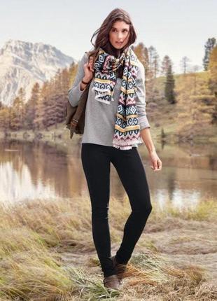 Модные эластичные леггинсы, штаны, брюки от tcm tchibo, германия, размер 36 европейский (наш 42)