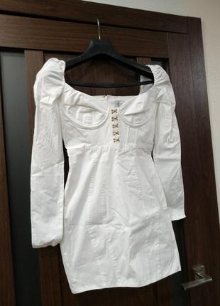 Белое платье платьице сукня сарафан в ассортименте