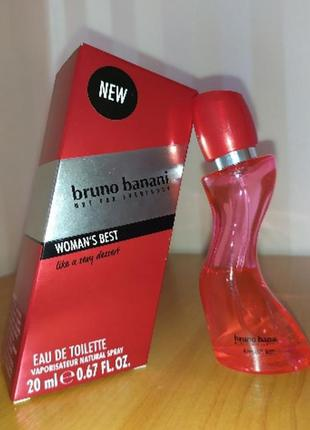 Туалетная вода bruno banani woman's best