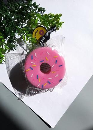 Victorias secret мочалка для душа виктория сикрет пончик