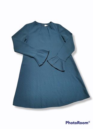 Платье & other stories с рюшами воланами складки мини короткое