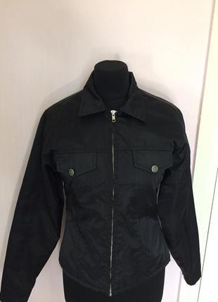 Курточка на замке, воротник, спорт стиль