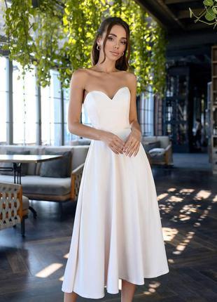 🔥 вечернее платье с корсетом длинное с открытыми плечами без бретелек