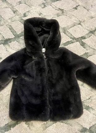 Шубка искусственная,  шуба куртка zara