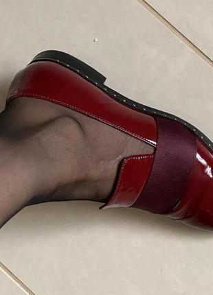 Дизайнерская обувь туфли стильные размер 37