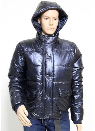Куртка бомбер с капюшоном молодежная / италия