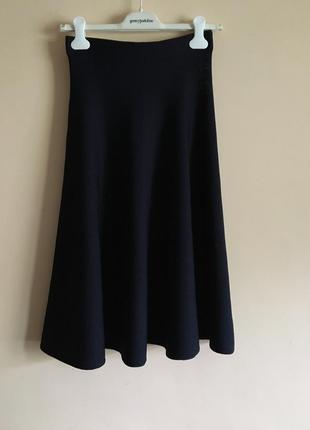 Шикарная трикотажная юбка трендовой длины mango