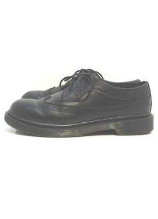 Детские кожаные туфли оксфорды dr. martens р. 36