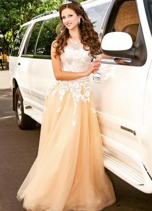 Роскошное платье на выпускной