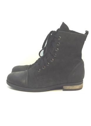 Утепленные кожаные ботинки cafe noir р. 39