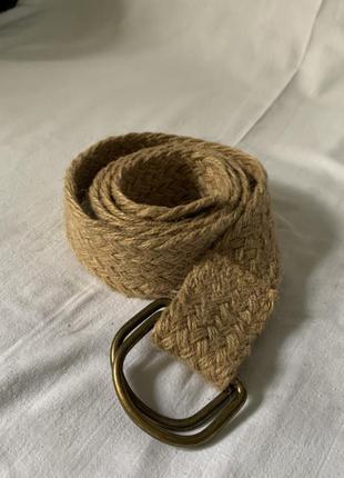 Ремень плетённый