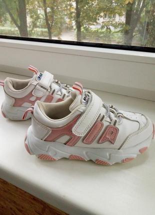 Стильные кроссовки 19см стелька