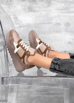 Р. 36-40 кожаные кроссовки
