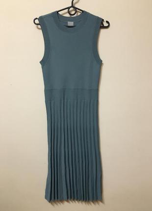 Трикотажное платье h&m свежие коллекции!