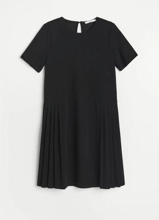 Сукня платье оверсайз в складку