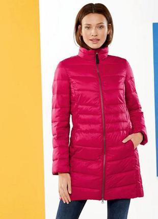 ‼️дефект‼️ скидка ‼️ стеганая куртка удлиненная т демисезон esmara германия