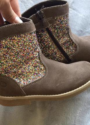 Melania фирменные деми ботинки сапоги для девочки