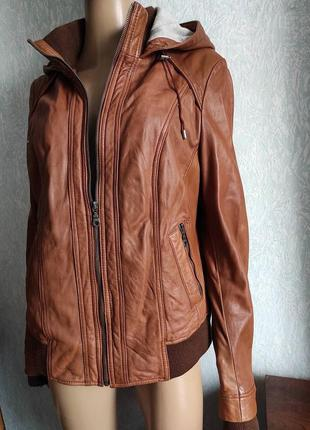 Кожаная куртка, бомбер, косуха
