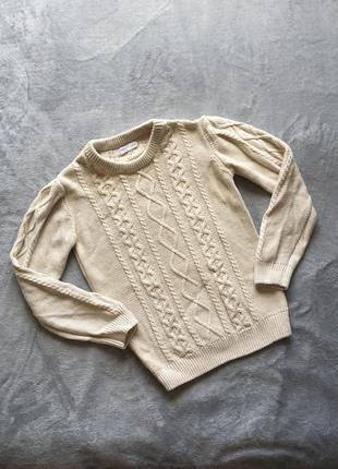 Базовый джемпер свитер sinsay
