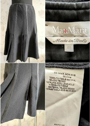 Шикарная юбка от люкс бренда из 💯 шерсти и шелка !