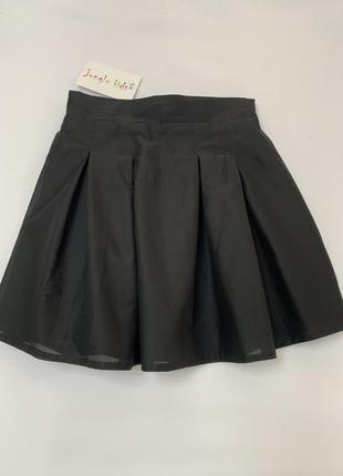 Красивая двойная юбка.  отлично в школу