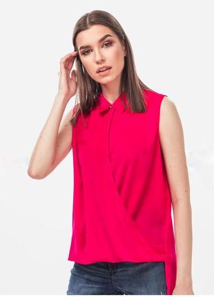 Новая малиновая блуза guess оригинал