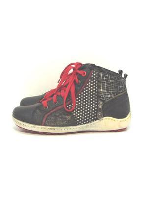 Оригинальные утепленные кеды ботинки remonte р. 36