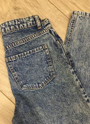 Винтажные джинсы мом
