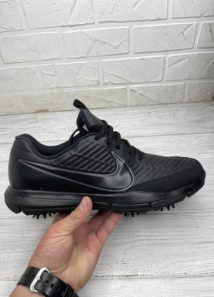 Кроссовки черные nike golf