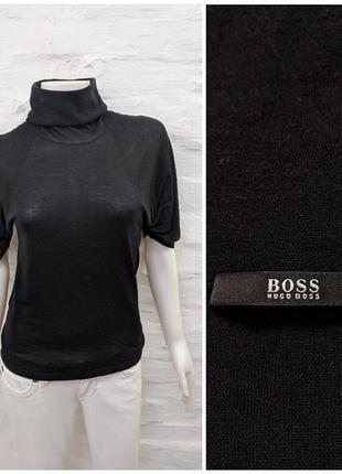 Hugo boss элегантный свитер из тонкой мягкой шерсти