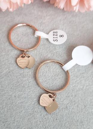 Стильное кольцо размеры 17;18;19  из ювелирной стали xuping