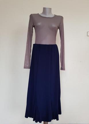 Качественная базовая трикотажная юбка saloos collection