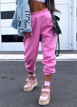 Стильные женские молодежные спортивные штаны