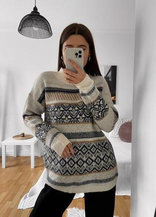 📎 свитер с абстракцией tu