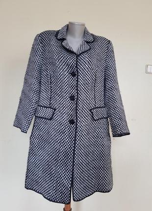 Классное пальто кардиган с шерстью concept uk