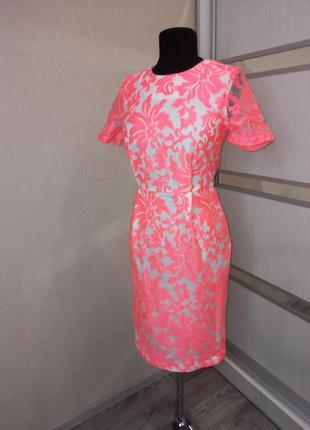 Шикарное нарядное яркое платье 🌺