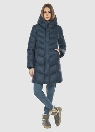 Куртка синяя женская