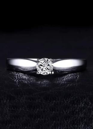 Элегантное серебряное кольцо. помовочное серебряное кольцо