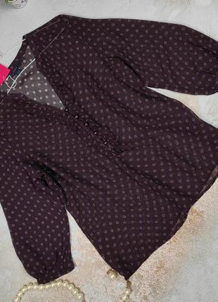 Блуза новая изысканная натуральная оригинал boden uk 14/42/l
