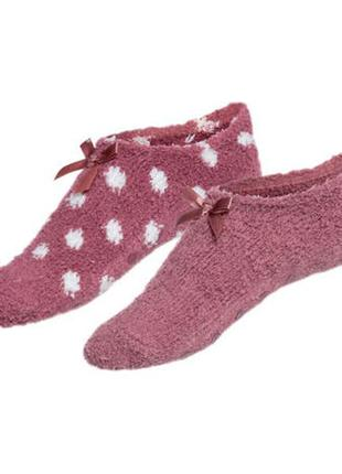 Теплые носки-тапочки набор 2 пары рр.35-38, 39-42