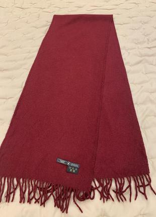 Шерстяной шарф из альпака, baby alpaca 100 %