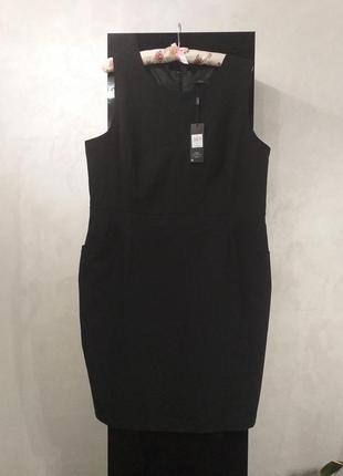 Базовое черное платье, сарафан большой размер