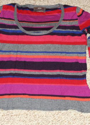 Тёплый свитер marks & spencer - кашемир, ангора, вискоза