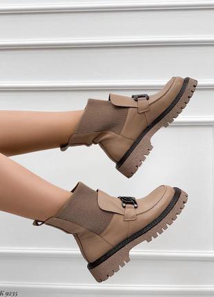 Ботинки деми натуральная кожа