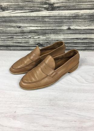 Фирменные мужские кожаные туфли лоферы bally suisse moreschi tods