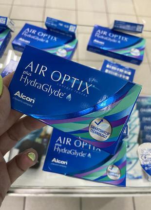 Мягкие контактные линзы air optix