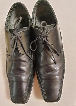 """Комфортные мягкие туфли """" clarks """"англия! 42 р."""
