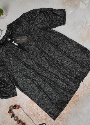 Блуза новая нарядная богатая new look uk 16/44/xl